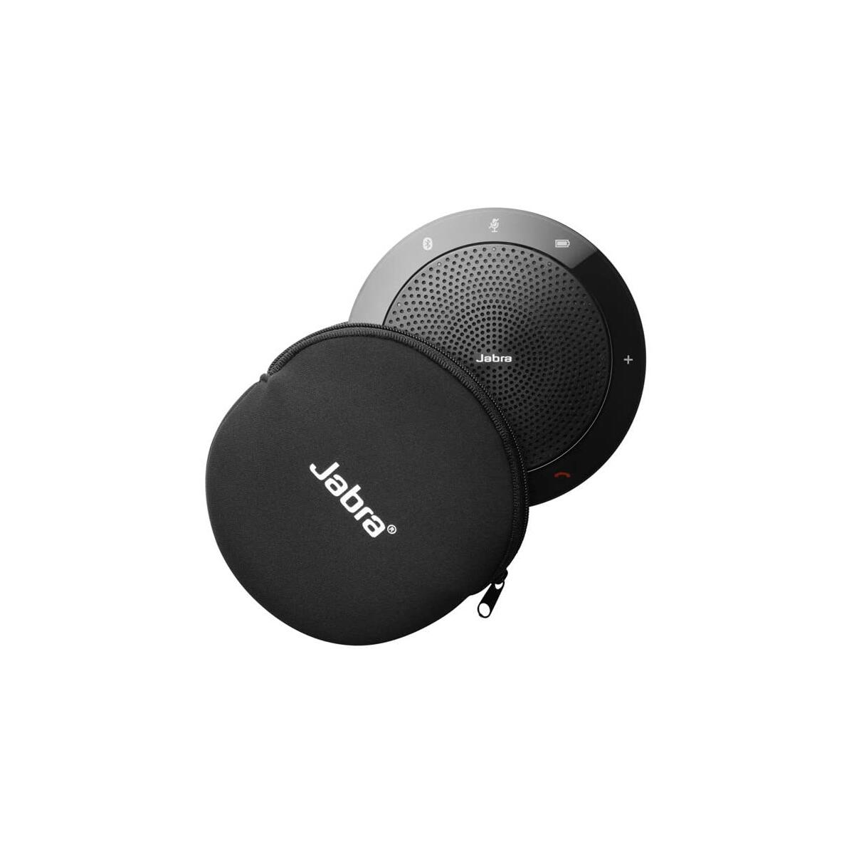 Jabra Speak 510 MS Wireless Bluetooth Speaker for Softphone and Mobile Phone – Easy Setup, Portable Speaker for Holding Meetings Anywhere with Outstanding Sound Quality