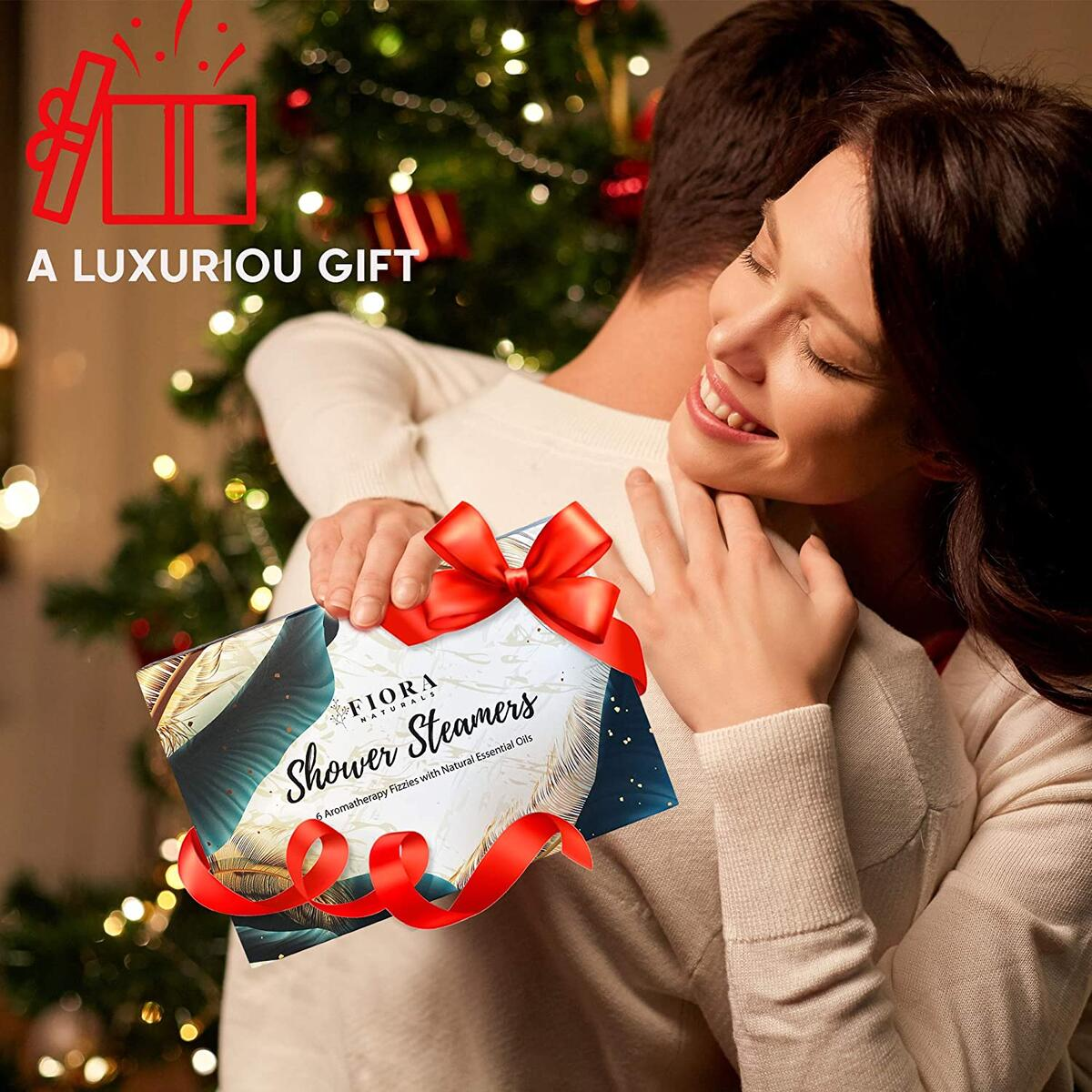 Fiora Naturals Shower Steamer Aromatherapy Gift