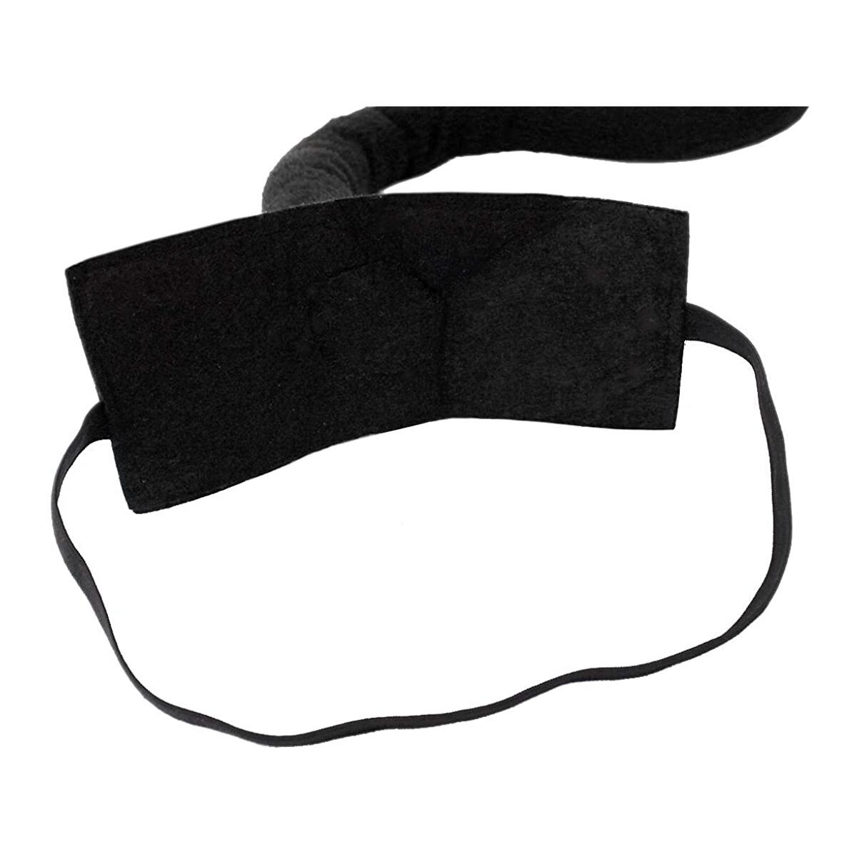 Cat Ears and Tail Set Black Cat Ear Clips and Long Tail Cosplay Costume Set Animal Ear Clips White & Black Hair Clip for Women/Girls/Kids Halloween, Anime Neko Accessories