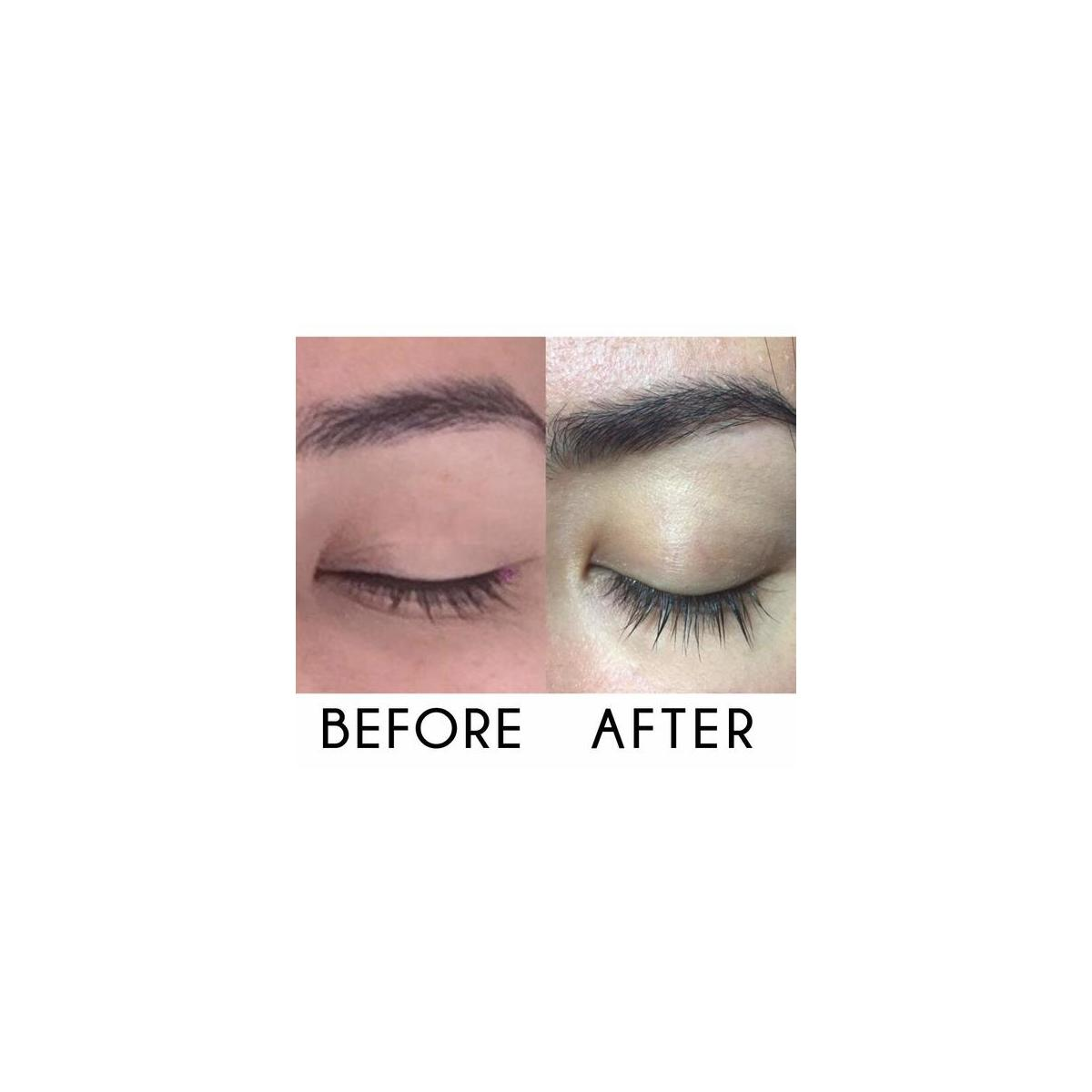 Eyelash Growth Serum Eyebrow Growth - Vegan Lash Boost 8,5 ML - Best Eyelash Conditioner - Brow Enhancer - USA Made Irritaion Free Formula