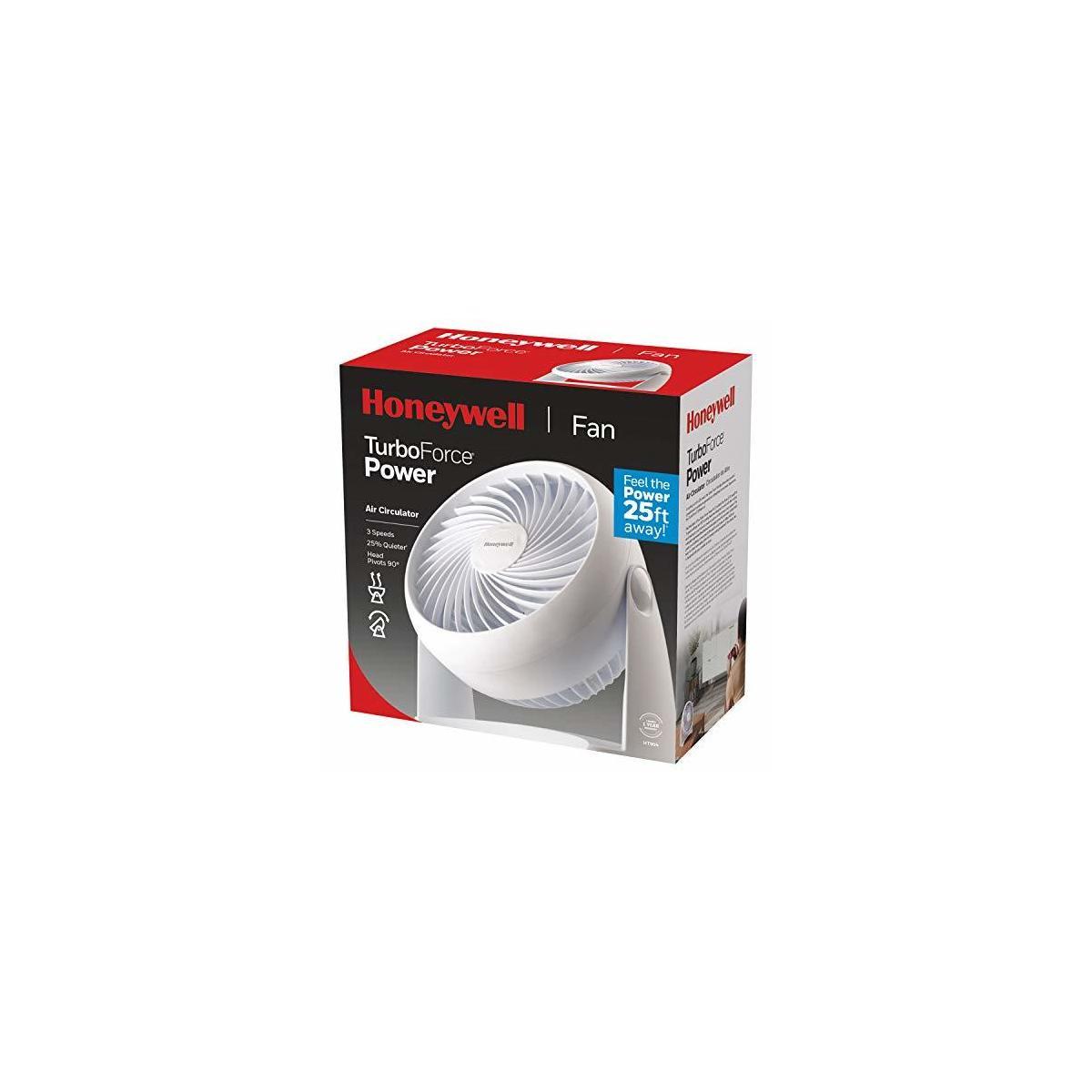 Honeywell Kaz HT-904 Tabletop Air-Circulator Fan White