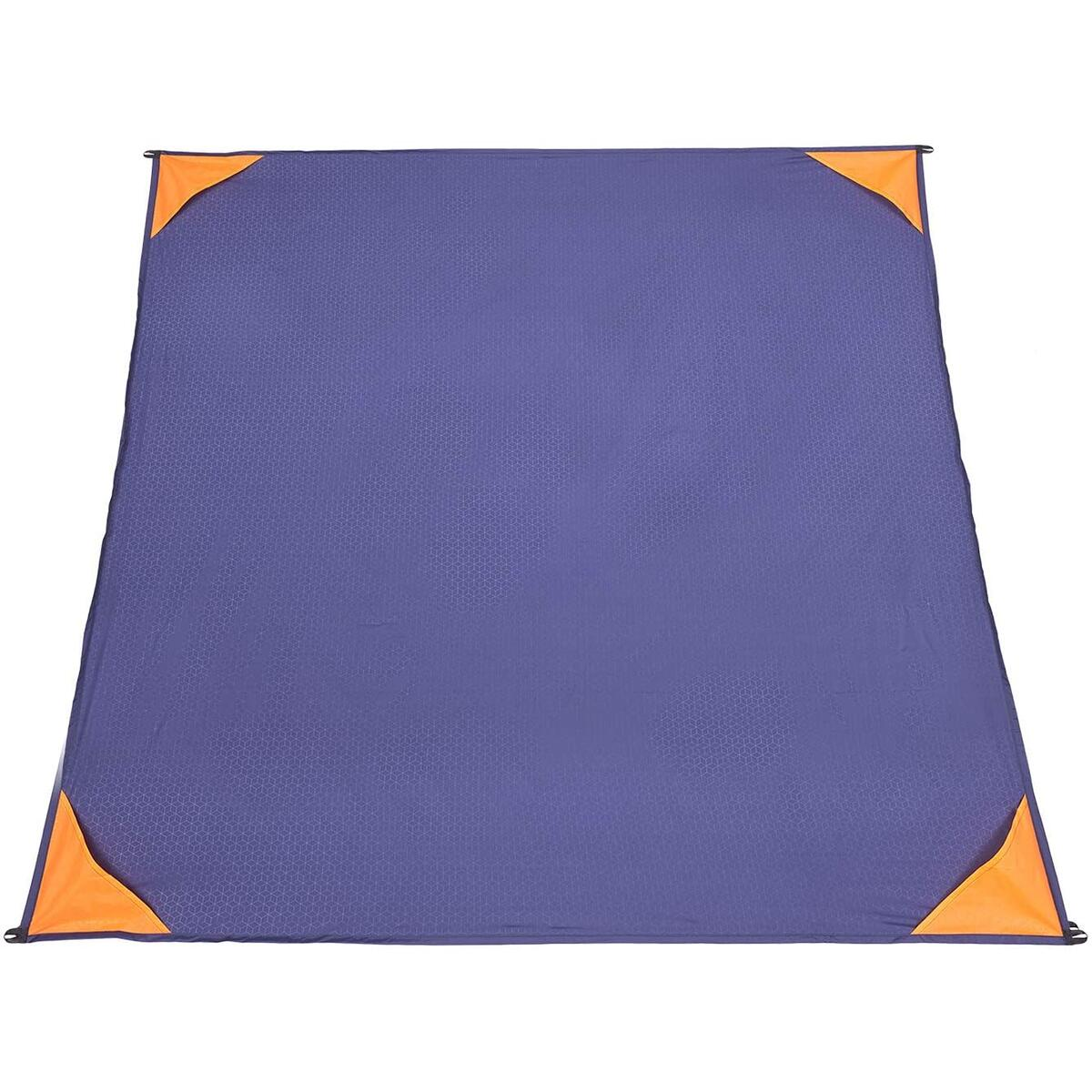 Tripworthy Sand Free Beach Blanket with Bag and Ground Stakes