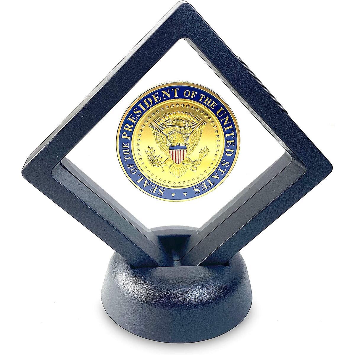 Joe Biden, Biden 2020, Biden 2020 Flag, Gold, Collectible Coin, Coins, Biden Gift, Presidential Coin, Biden Flag