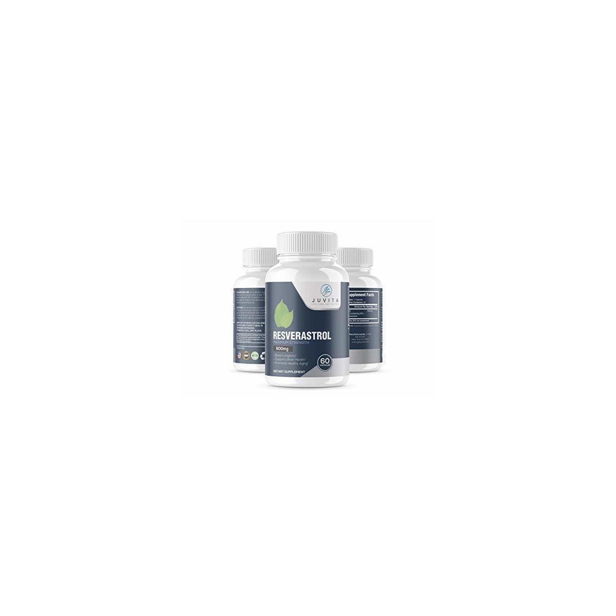 Anti-Aging Resveratrol - 600mg