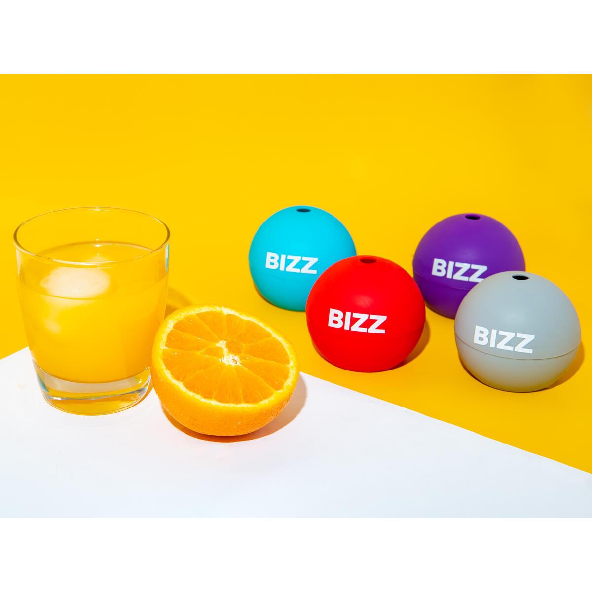 Round Ice Cubes - 4 Ice Spheres
