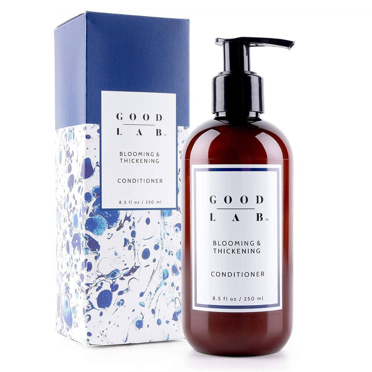 Good Lab Blooming & Thickening Conditioner for Hair Loss, Thinning, Hair Growth - Packed w/DHT Blockers & Antioxidants - SLS-Free - For All Hair Types