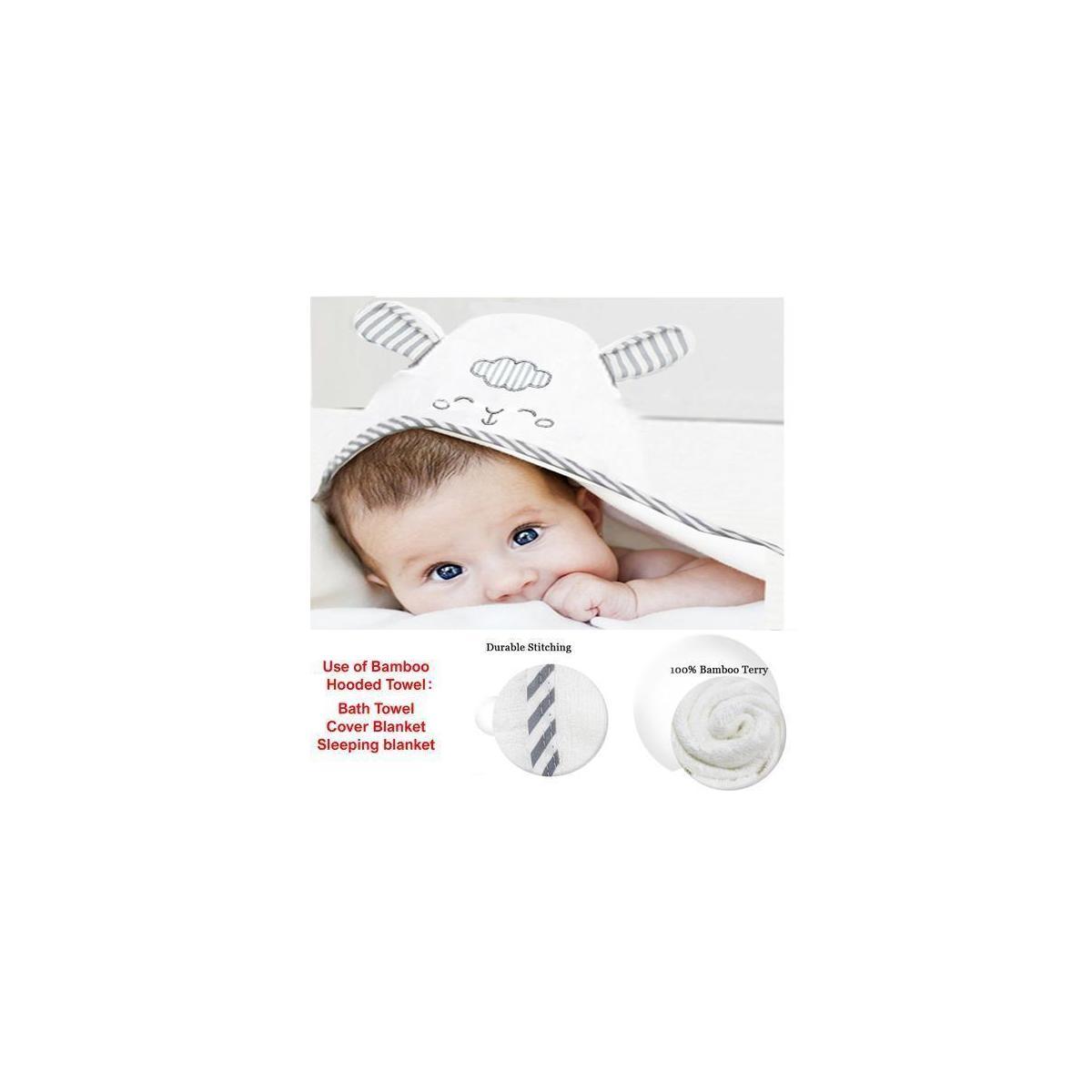 Icona-International Baby hooded towel