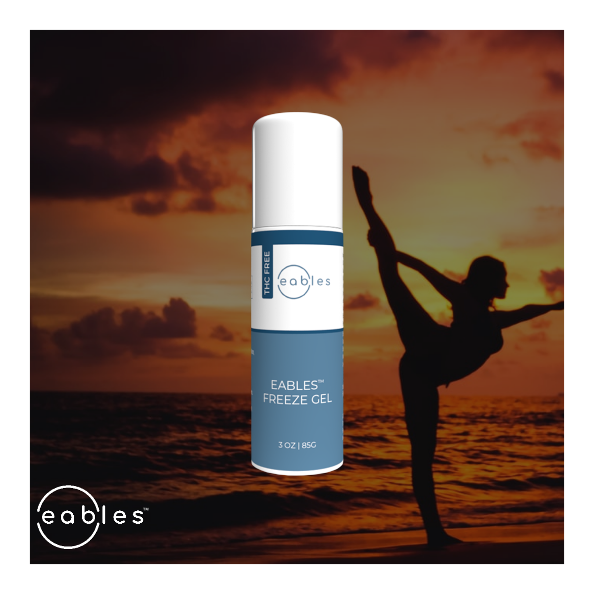 Eables™ CBD Cold Therapy Muscle Gel (roll-on)