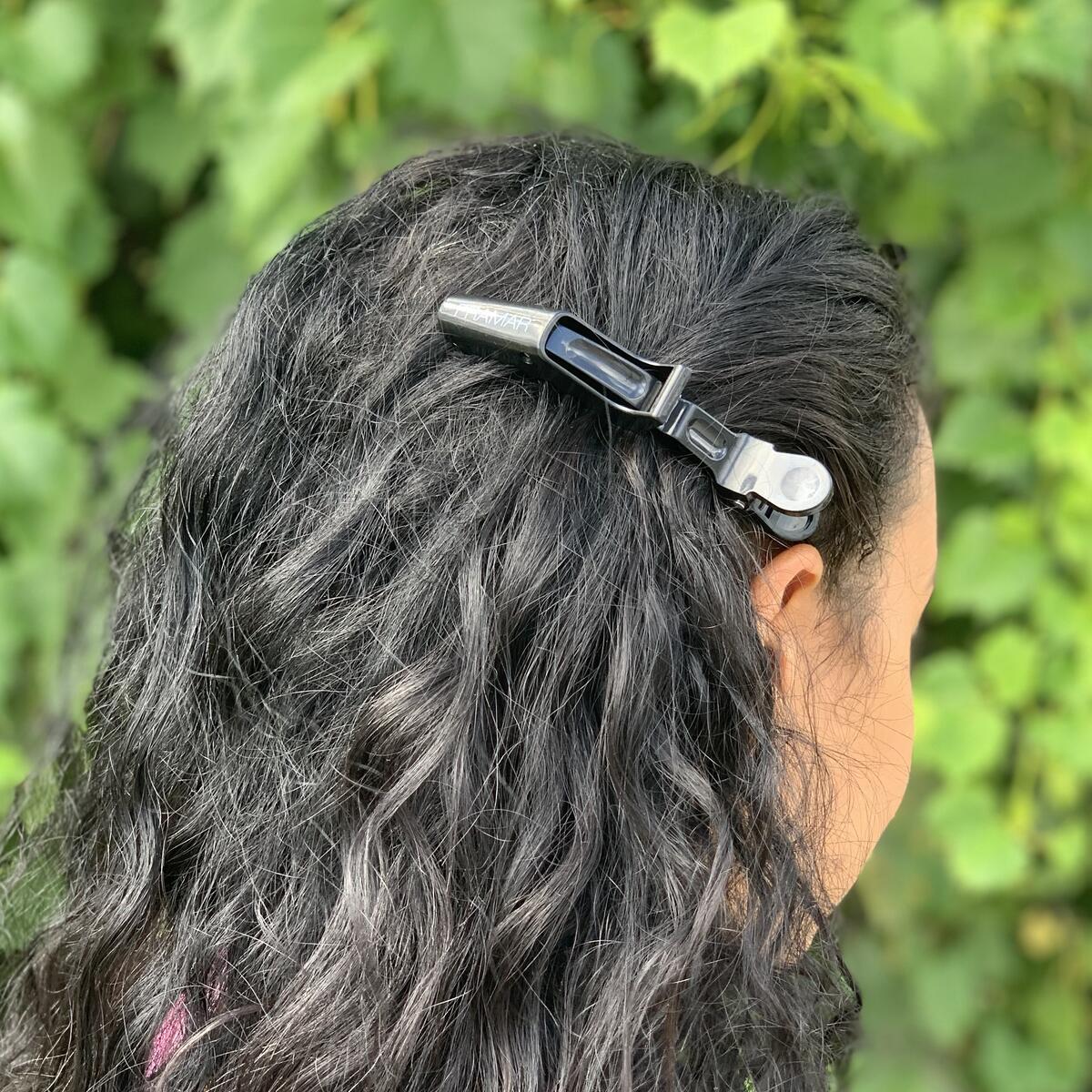 Framar Black Onyx Hair Clips 10 pieces - Premium Hair Clip, Clips for Hair, Alligator Hair Clips for Styling