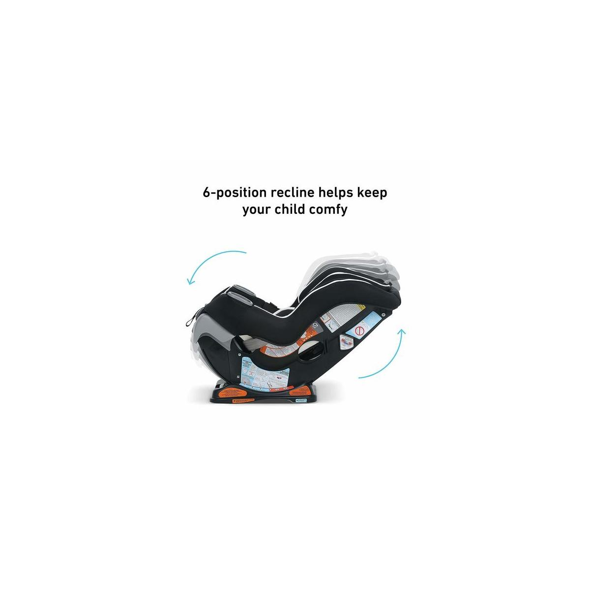 Graco Extend2Fit Convertible Car Seat, Only Gotham Color