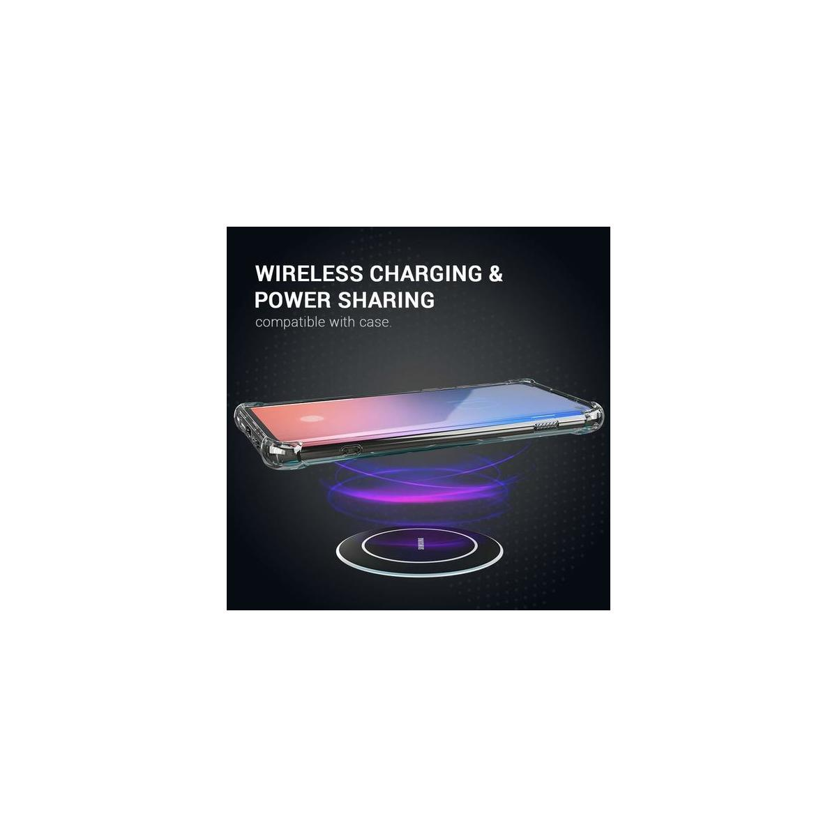 Samsung Galaxy S10 Case - Clear TPU Acrylic Protective Heavy Duty Phone Case