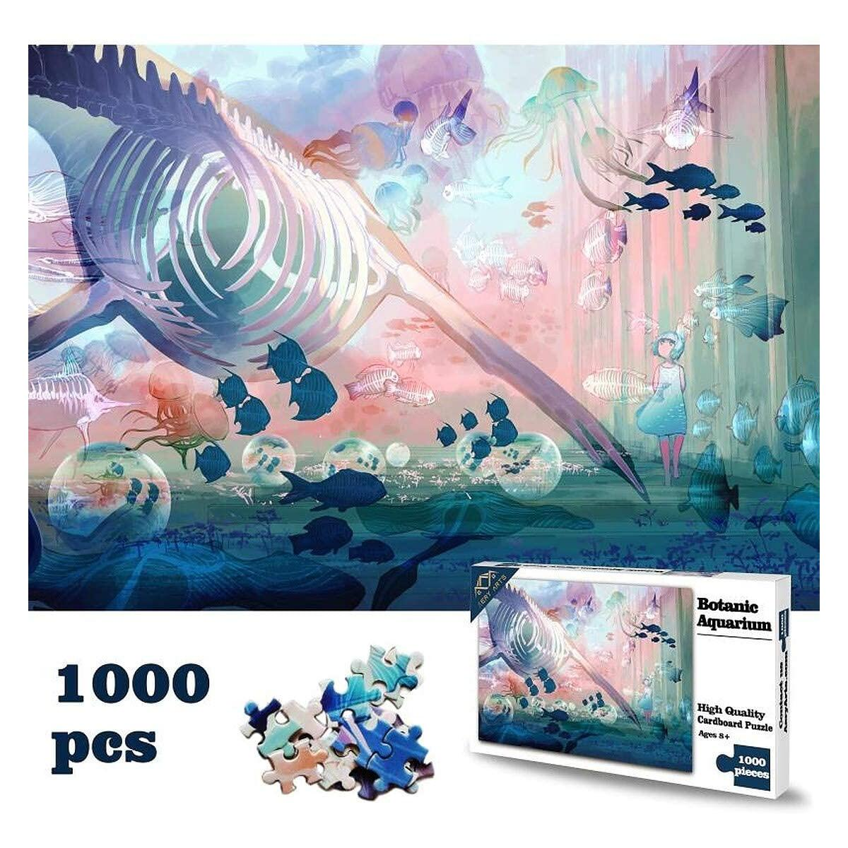 1000 Piece Jigsaw Puzzle Aquarium