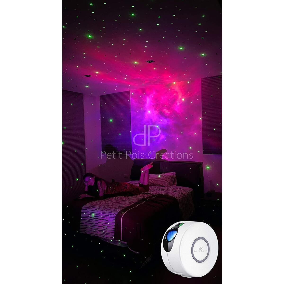 Petit Pois Creations, Star Projector, Galaxy Projector with LED Nebula Cloud for Bedroom, Game Rooms, Home Theatre, Night Lights Projector with Remote Control…