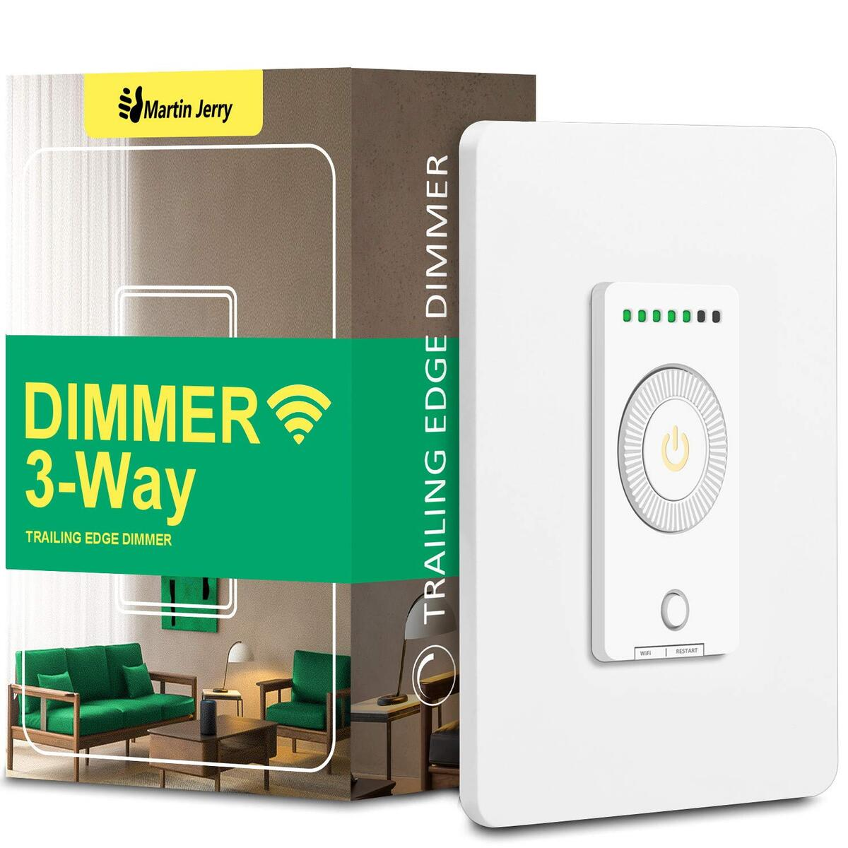 3 way smart dimmer switch (2020 NEW)