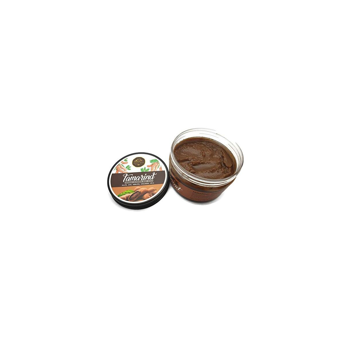 Prime Skin Intensive Whitening Body Scrub 300 grams Gluta, AHA, Alpha Arbutin, Collagen, Vitamin C (Tamarind)