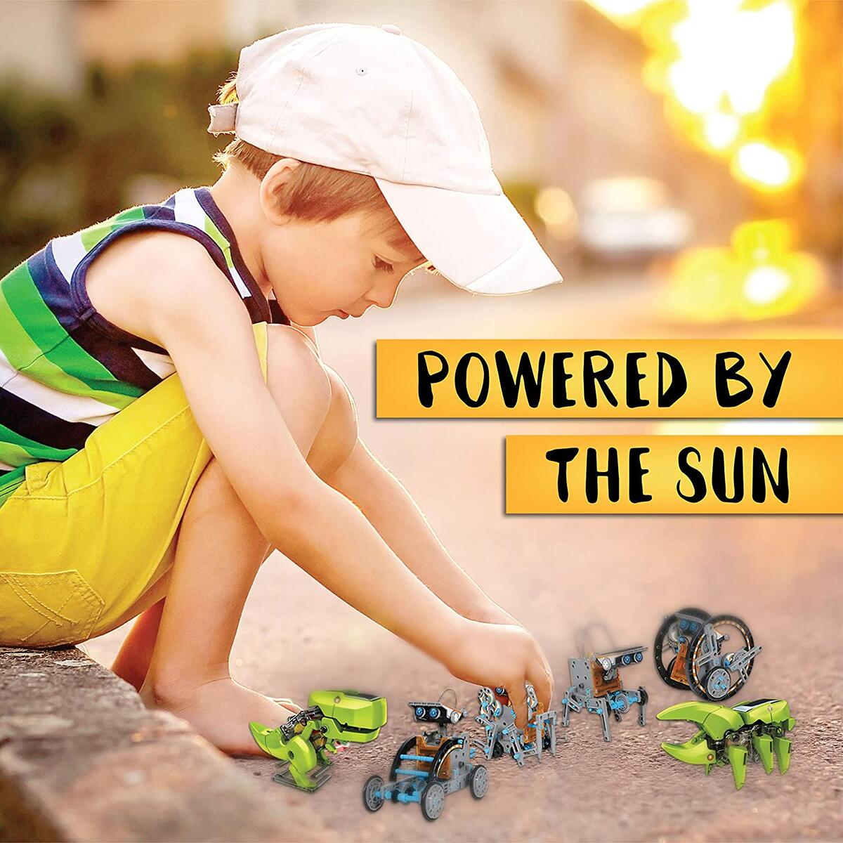 ToyVelt 12 in 1 Solar Robot Kit Plus A 3 in 1 Solar Building Toy and A Beatiful Storage Container Solar Powered by The Sun STEM Toys for Boys and Girls Ages 8,9,10,11,12 Years Old