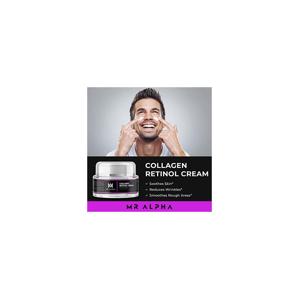 MR ALPHA Collagen Retinol Cream for Men