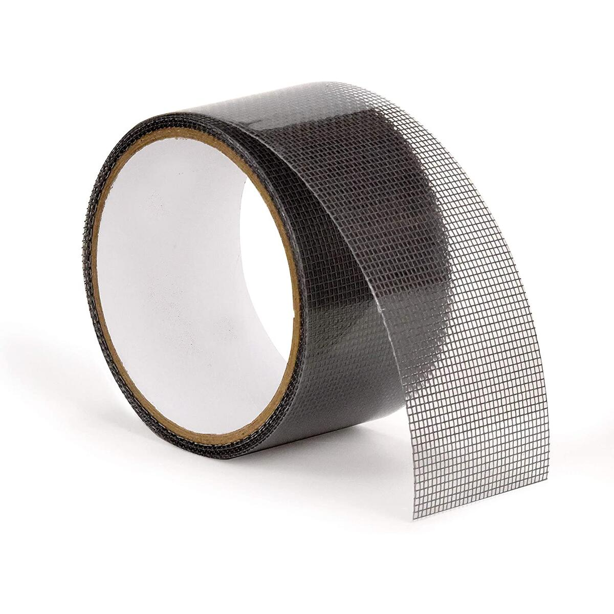 "Teegan Tapes - Window Screen Repair Tape - 2"" X 6.7 Feet (80') – Fiberglass Covering Wire mesh Tape – Strong Adhesive – Repair Hole tears – Home, Camper, RV, Cottage with Screen Doors or Windows."
