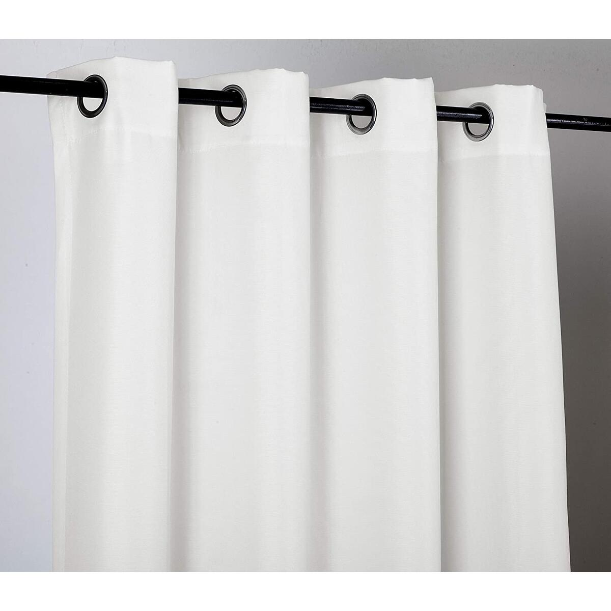 ndoor/Outdoor Solid Cabana Grommet Top Curtain Panel Wide Window Curtain Pair with Grommet Top 2pc 84 95 108 120 inch Window Treatment ( ALL SIZES AND COLORS )