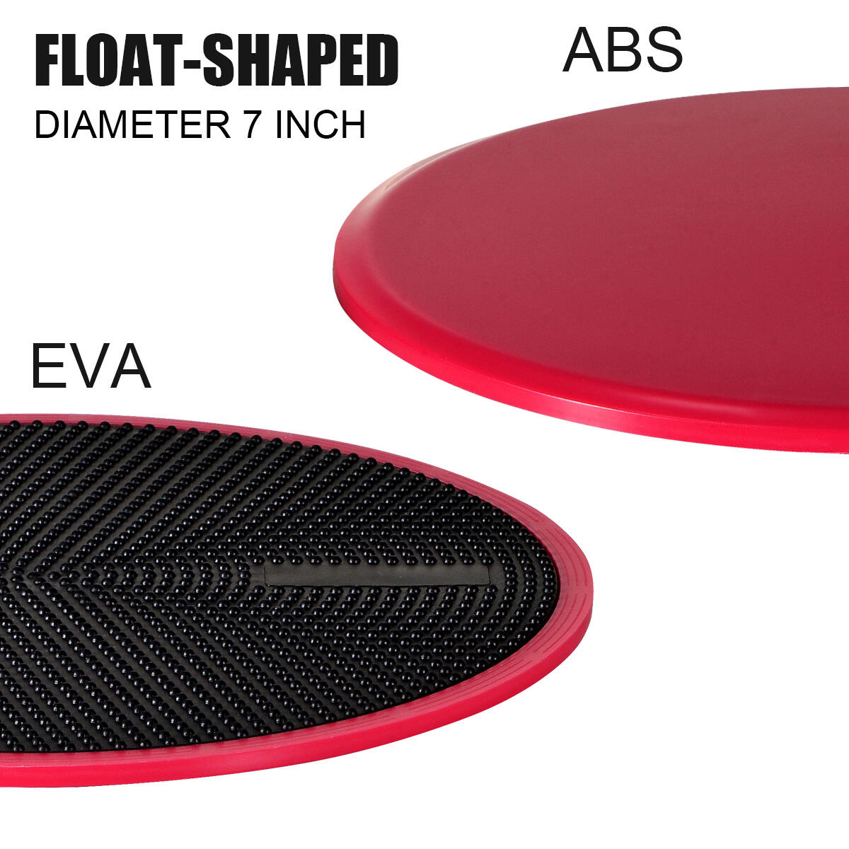 Exercise Sliders for Carpet or Hardwood [2020 Upgrade]-Dual Sided Core Sliders for Ab Workouts-Powerful and Portable Fitness Gliders Discs for Women/Man at Home or Gym (2Pack)