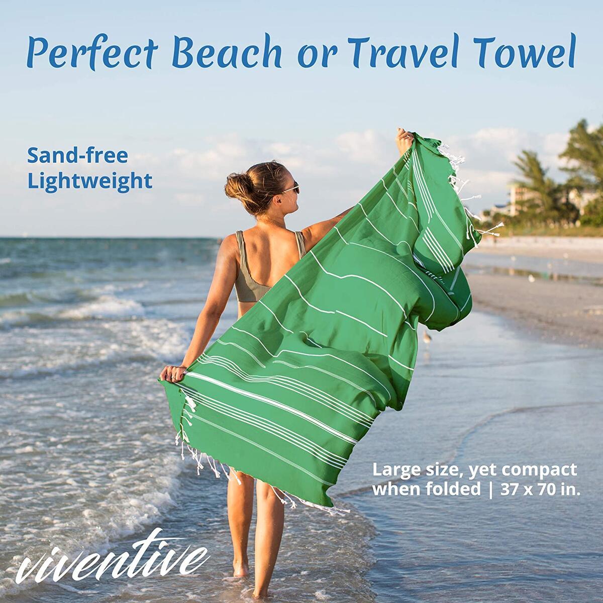 Thin Beach Towel - Peshtemal, Hammam