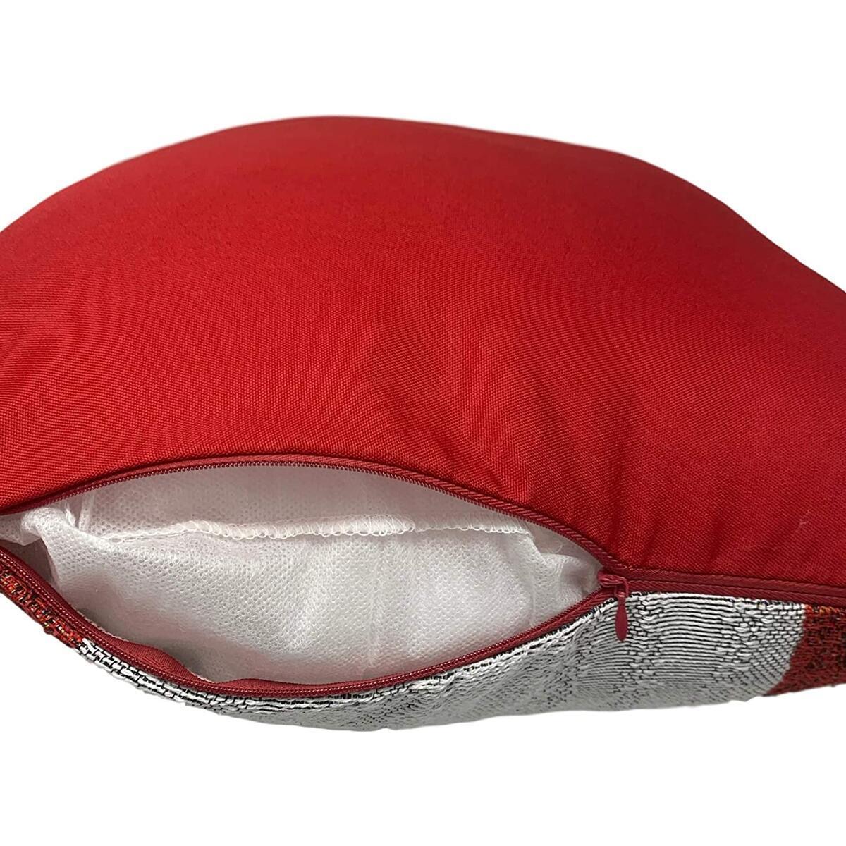 Christmas Pillows | Christmas Throw Pillow Covers | Santa Snowman Christmas Pillow Covers 18 x 18 (Set of 2)