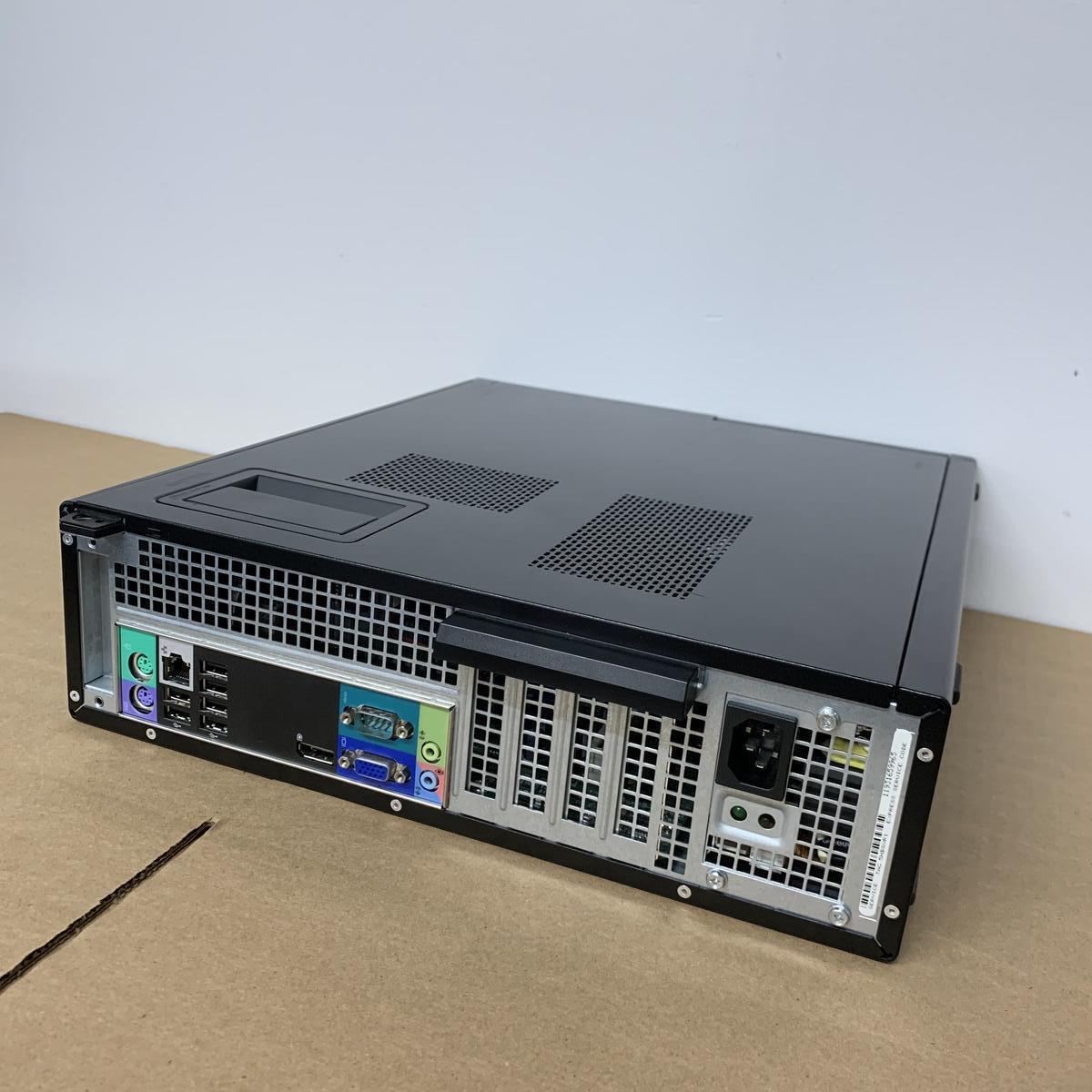 Dell OptiPlex 790 DT i5-2500 3.3GHz, 8GB RAM, 500GB HDD, WiFi 650MB/S, DVD+/-ROM, WINDOWS 10 Pro. REFURBISHED.