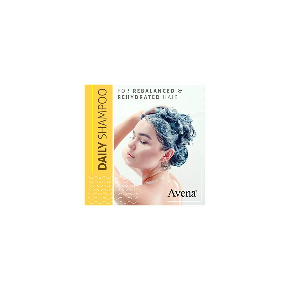 Avena Numero 1 Paraben-Free Shampoo for Colored or Chemically Treated Hair | Infused with Botanical Nourishing oils - Re-Store and Re-balance Natural Shine | Heat protectant | For All hair Types
