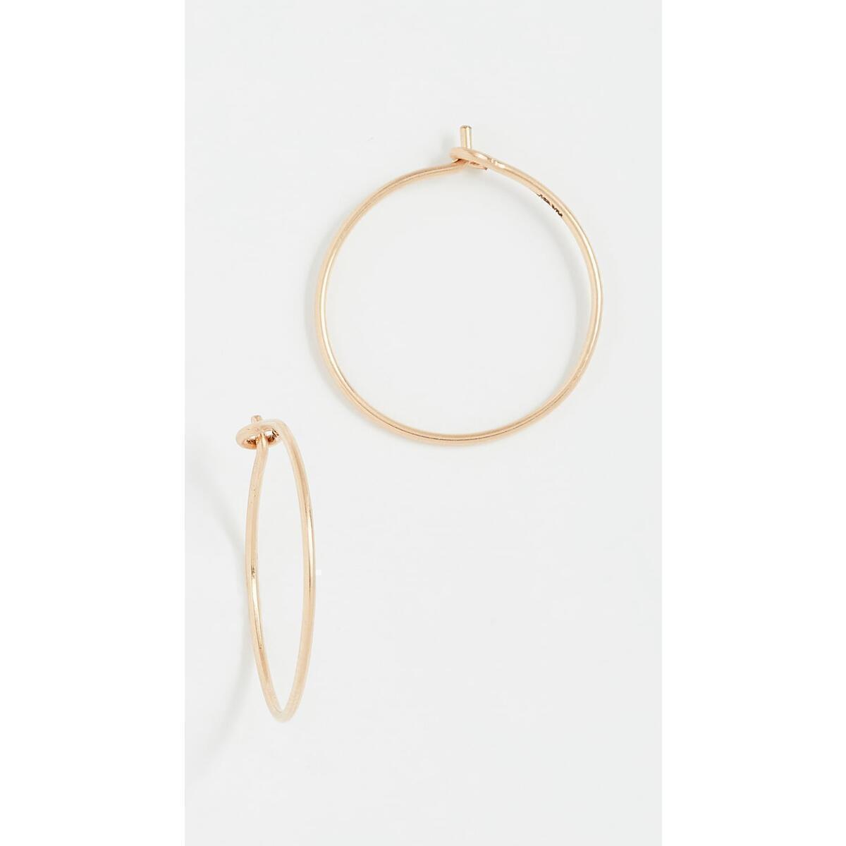 Tiny 14k Gold Filled Hoop Earrings