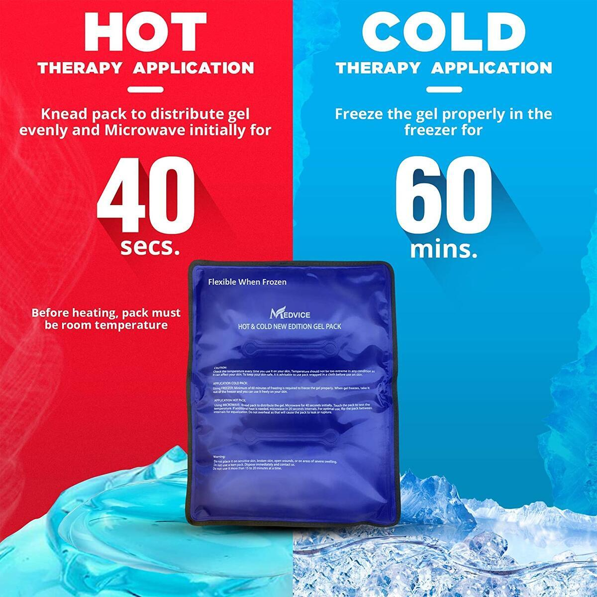 Dual Gel Cold & Hot Pack - 11.5