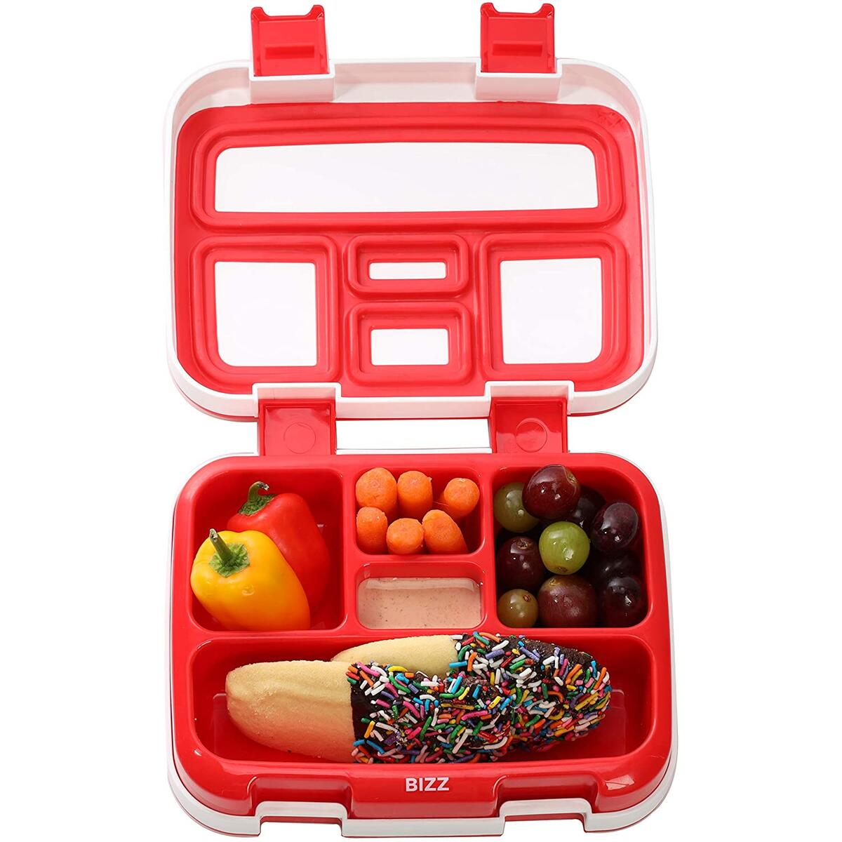 Bento Box with Spoon Fork - Baseball Design