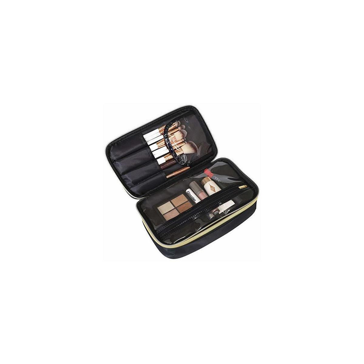 Black Makeup Bag/ Cosmetic Bag