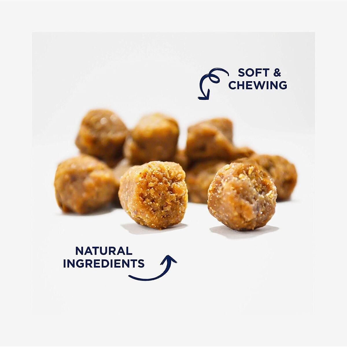 Natural Dog Daily Multivitamin Treats | Support Hip & Joint, Skin & Coat, Immune Booster, Heart Health & Digestive System | Contain Organic Hemp, Calcium, Taurine, Vitamins & Minerals | Made in USA