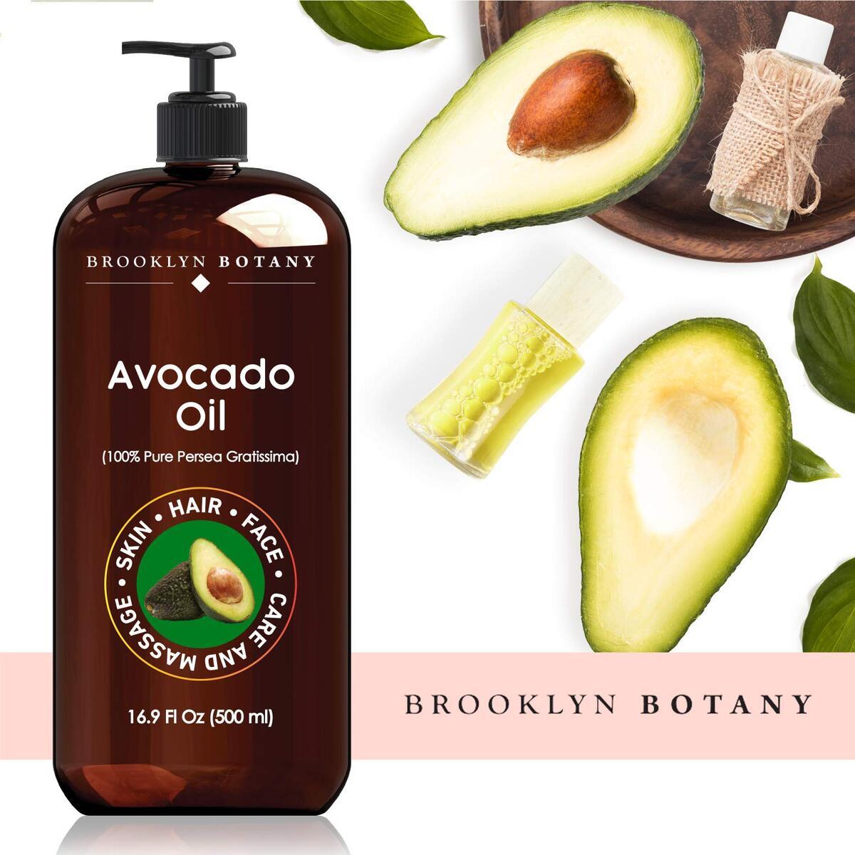 Brooklyn Botany Avocado Oil For Skin and Hair