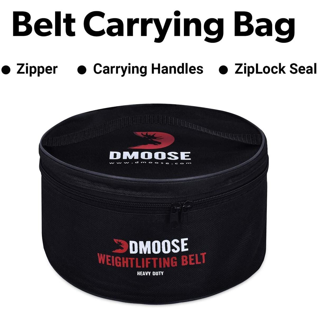 DMoose Weightlifting Genuine Leather Buckle Belt (4 INCH ONLY)