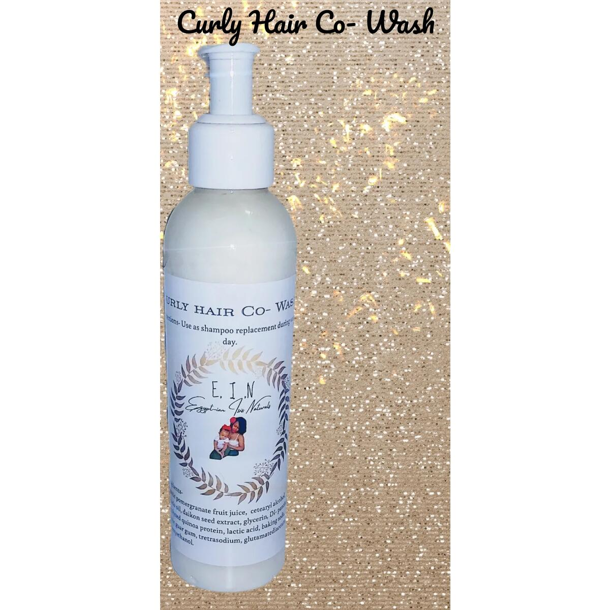 Curly hair Co- Wash conditioner