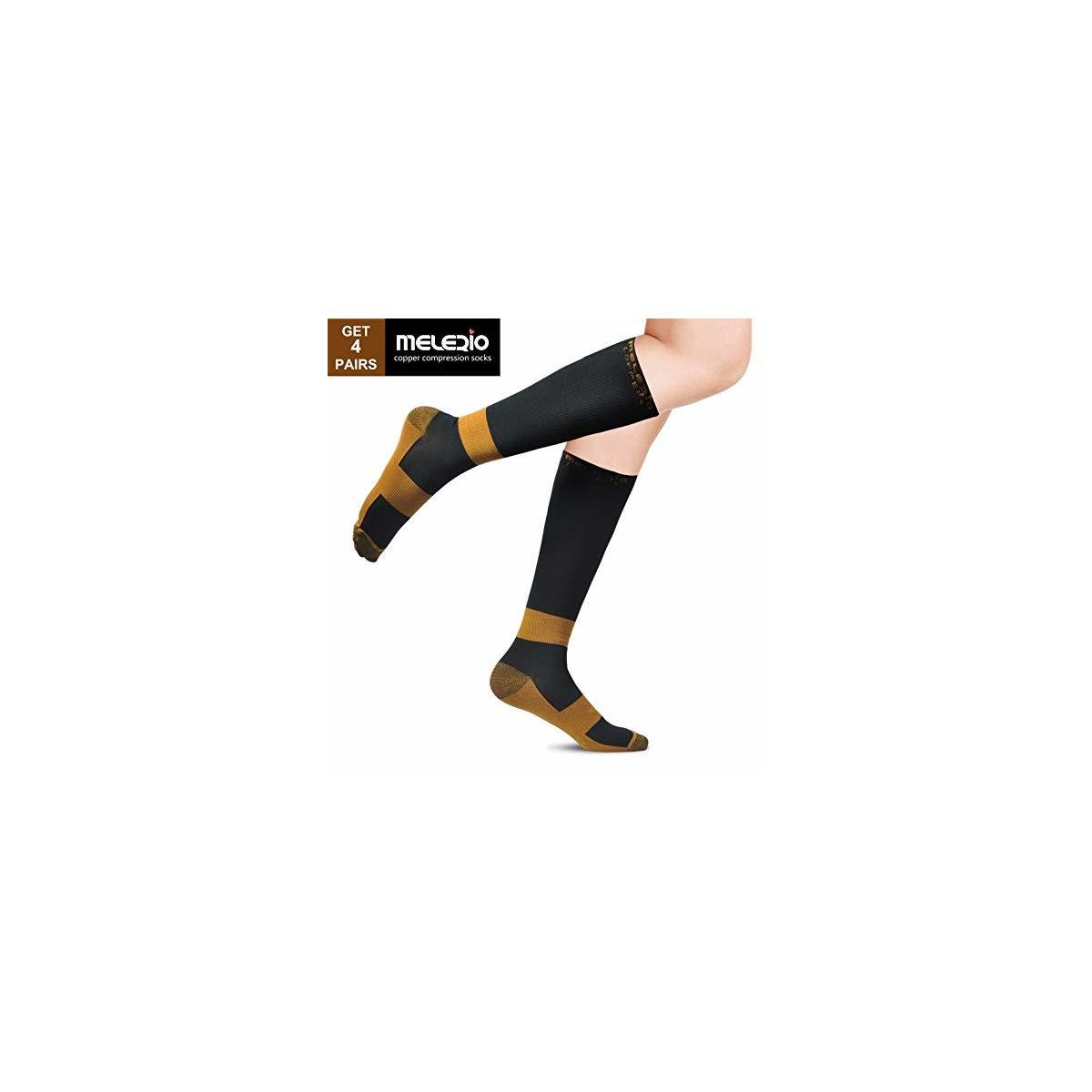 Copper Compression Socks for Men & Women Fit to Get Energy Circulation