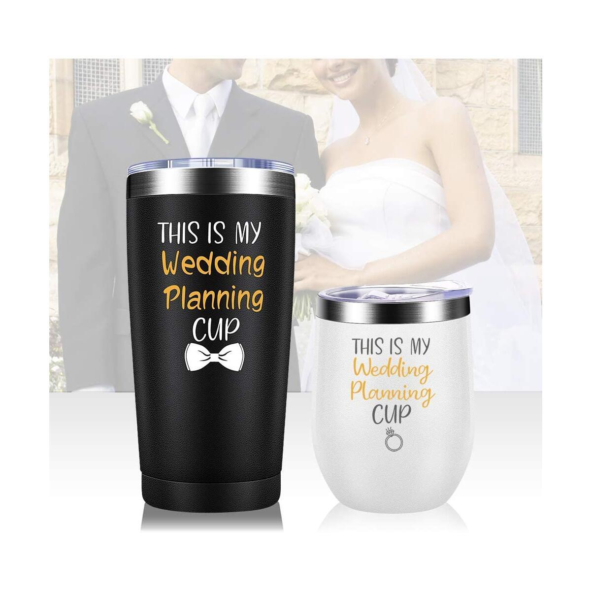 Wedding Planning Cup Set