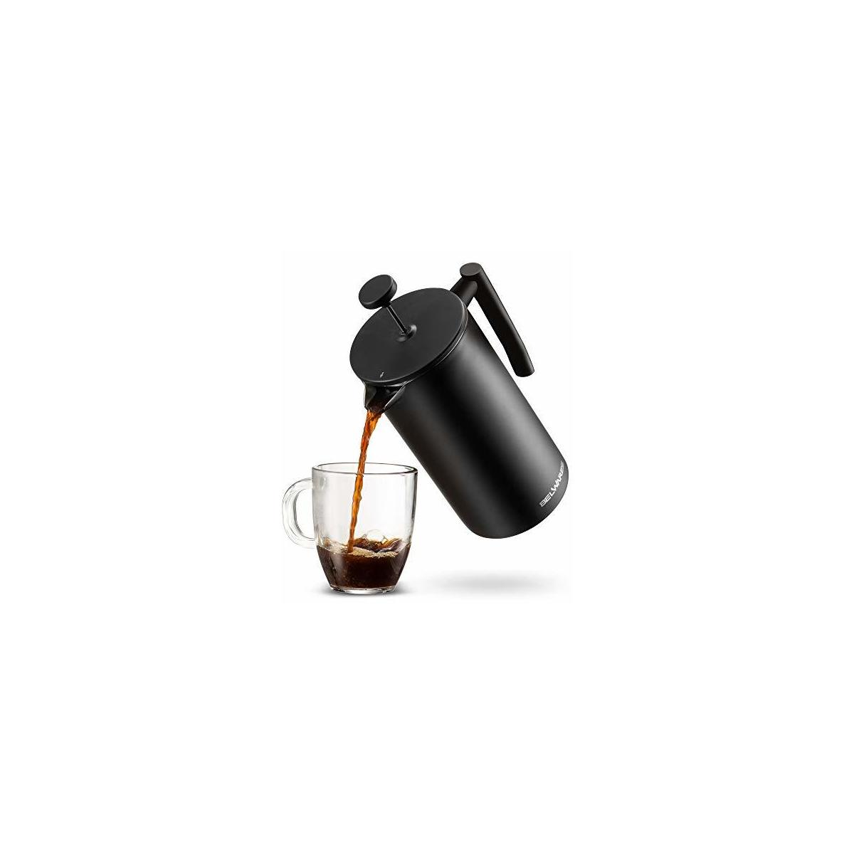 French Press Coffee Maker with Extra Filters (50oz)
