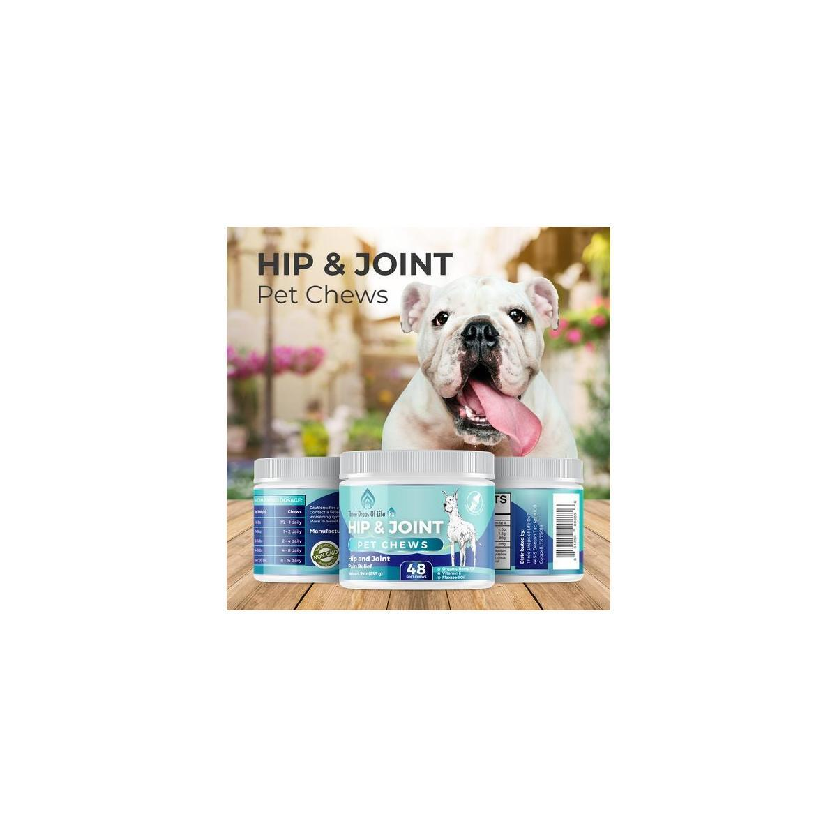 Hip and Joint Pet Chews - Veterinarian Recommended