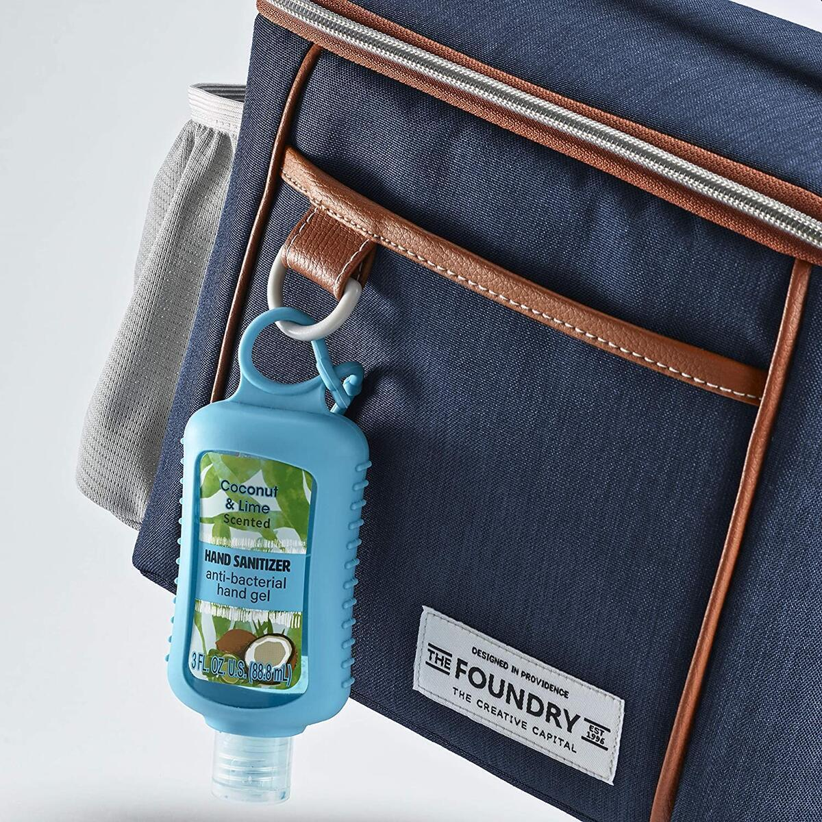 Foundry Insulated Lunch Bag with 2 Bottle Pockets and Included Snack Container