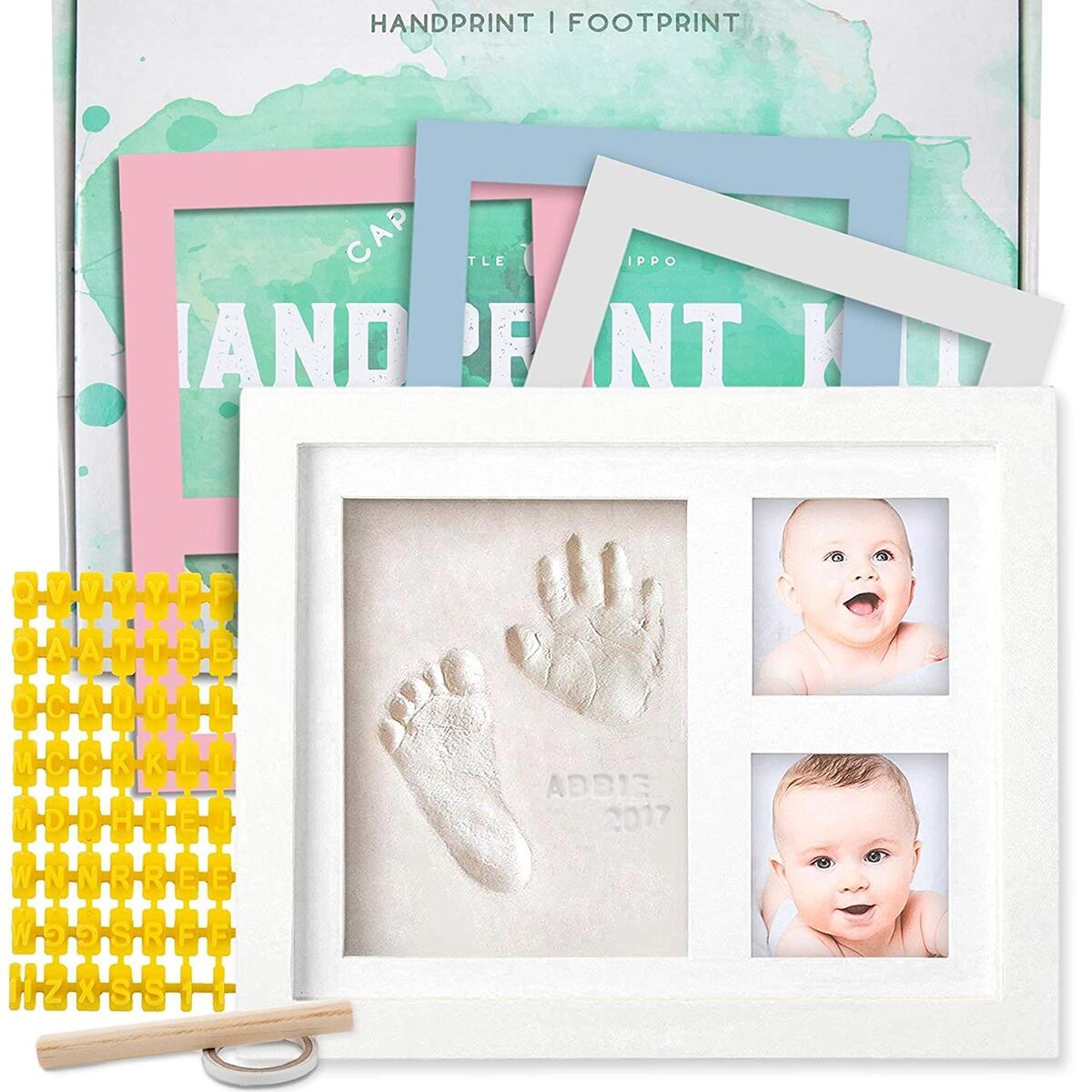 Newborn Baby Handprint Keepsake Kit