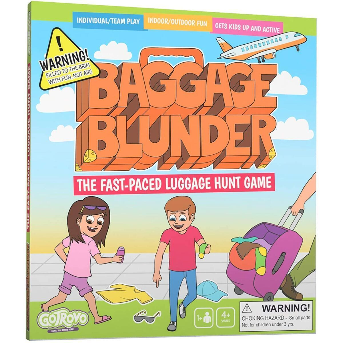 Baggage Blunder Fast-Paced Luggage Scavenger Hunt Game