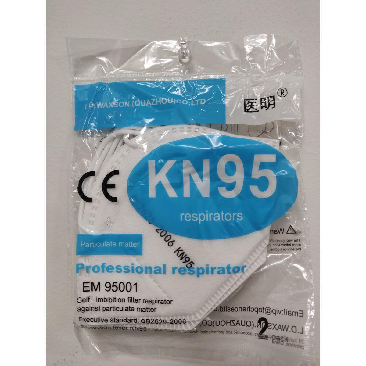 10 pack of  KN95 Disposable Face Mask Particle Respirator