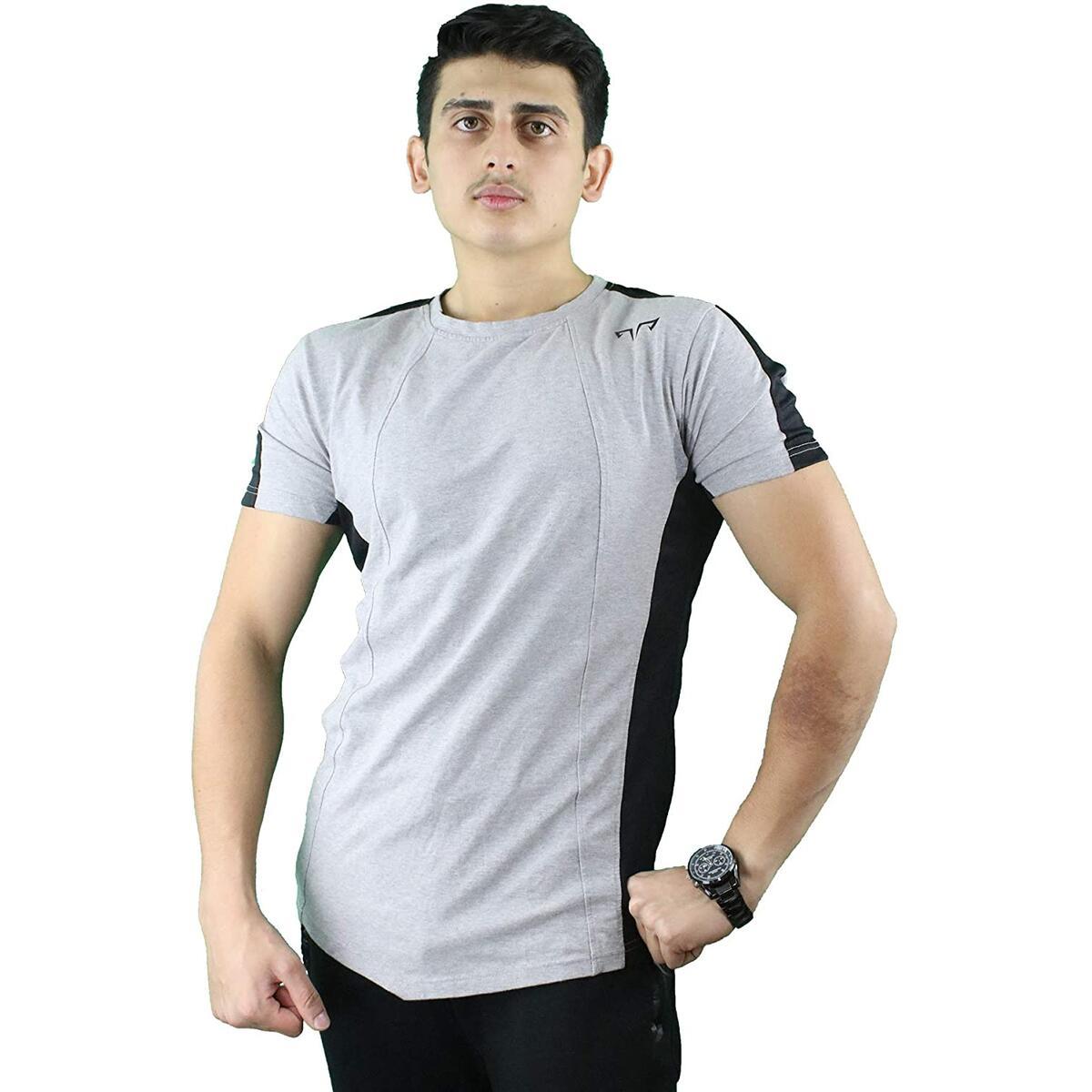 AlphaPro Men Gym Workout Shirt