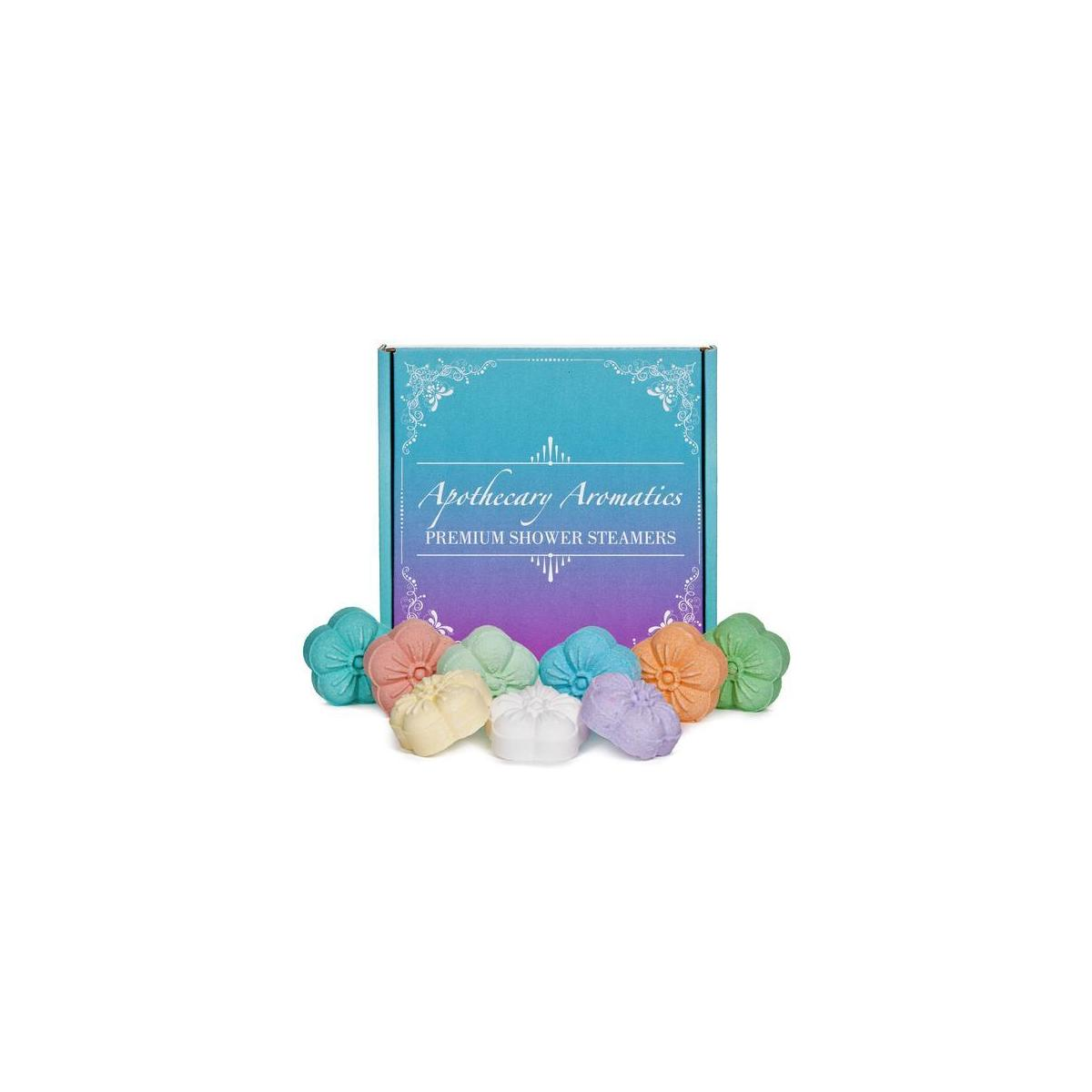 Menthol Infused Aromatherapy Shower Steamers, Pack of 9 vaporizing shower bombs, Home Spa Experience