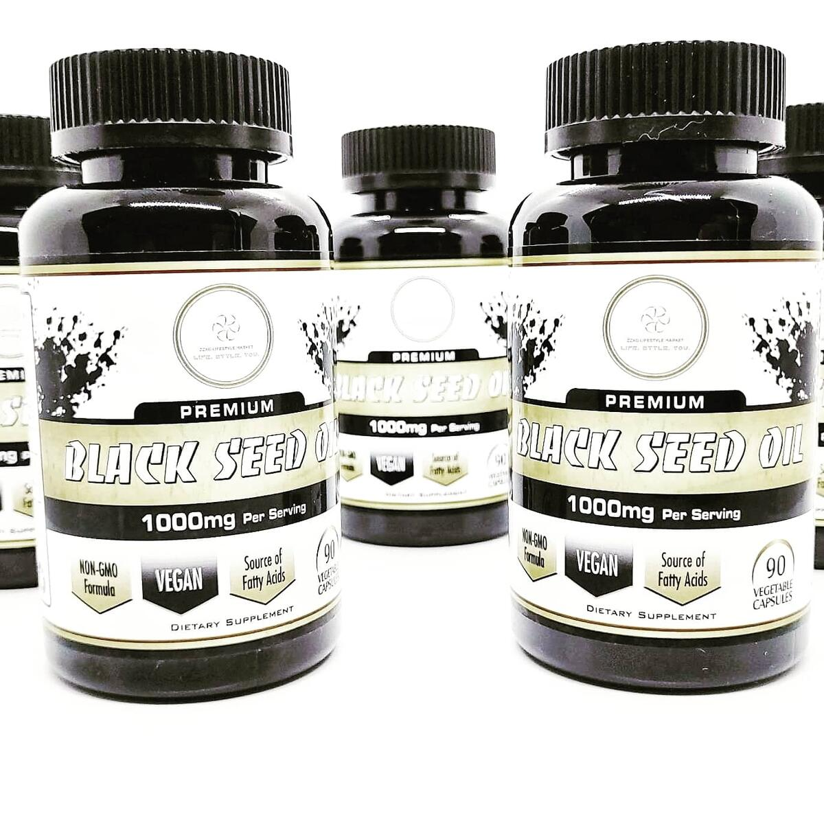 Premium Supplements - Black Seed Oil & Graviola