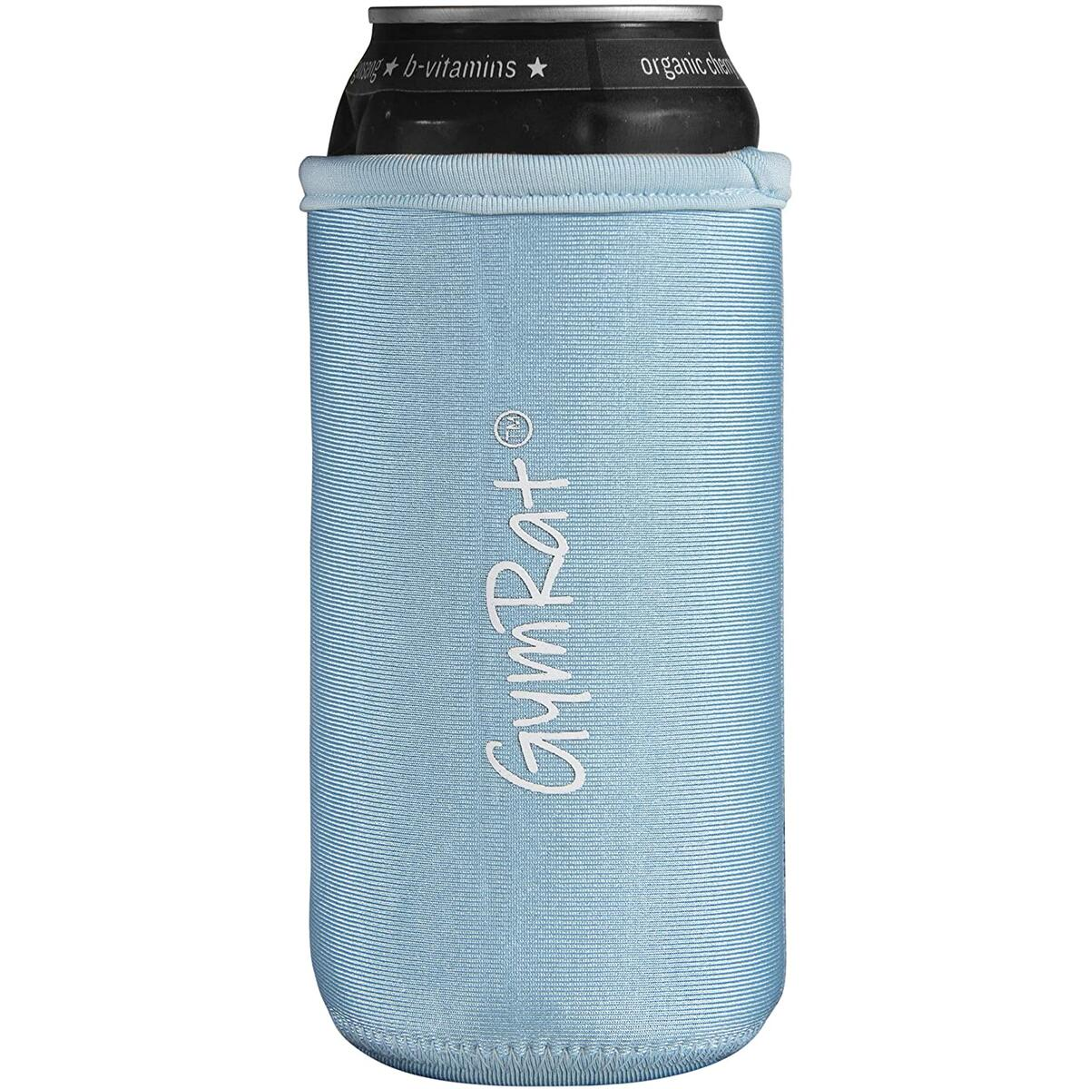 ymRat Tall Can Cooler for Cans & Bottles - 16 oz and 20 oz Slim Insulated Neoprene Can Sleeve Keeps Drinks Cold - Reinforced Stitching Perfect for Tall Drinks - Color Blue