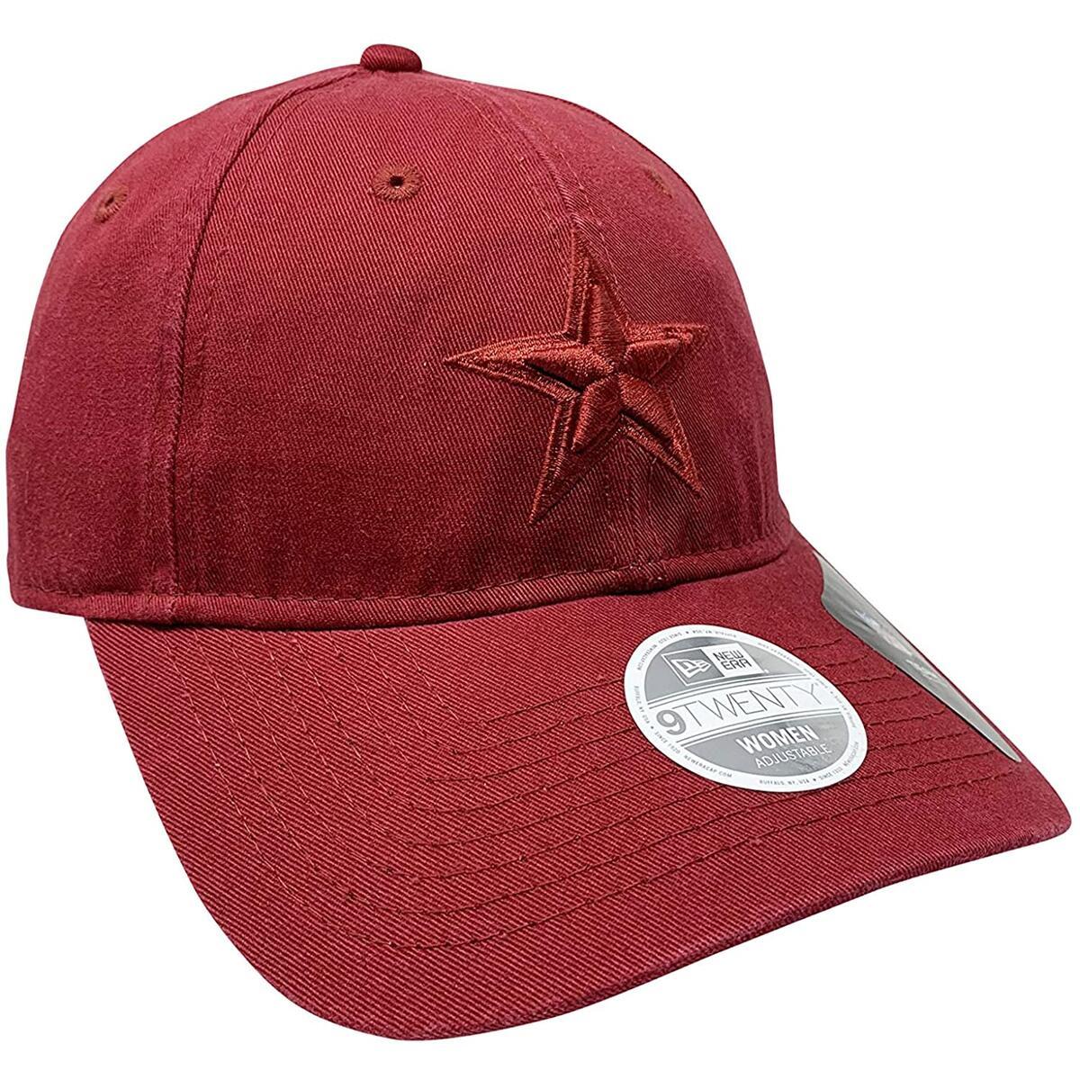 New Era 9Twenty Hat Women's Dallas Cowboys NFL Adjustable Cap (One Size, Red)