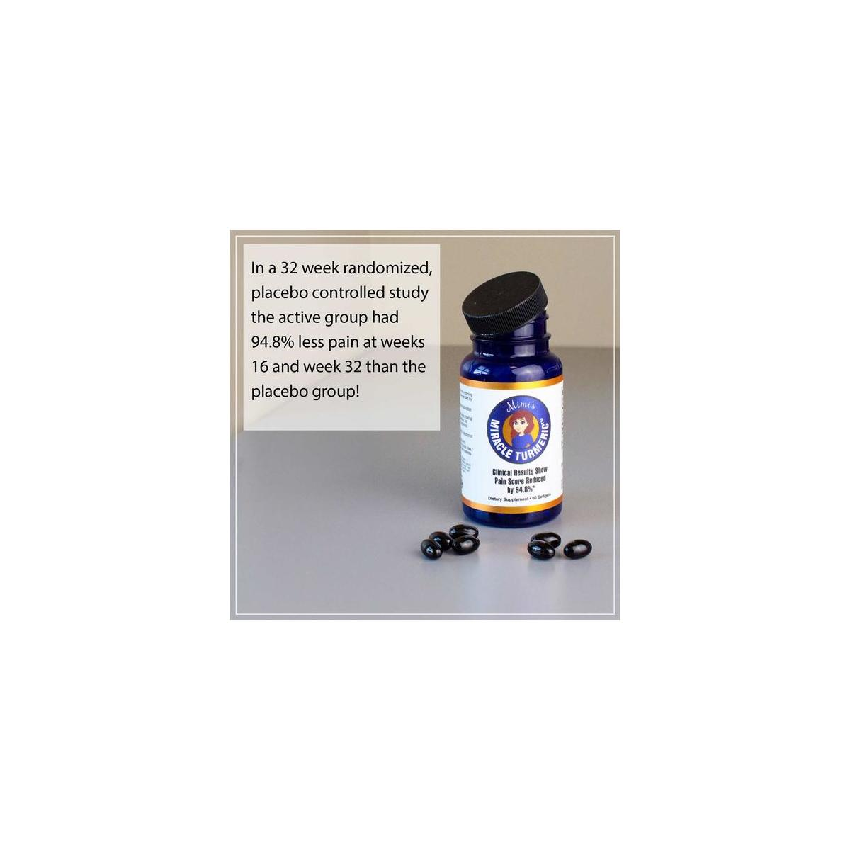 Mimi's Miracle Turmeric  - Clinically Proven to Reduce Inflammation & Pain